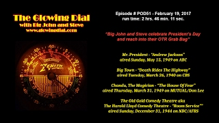 The Glowing Dial - episode POD51 - February 19, 2017 | John Matthews