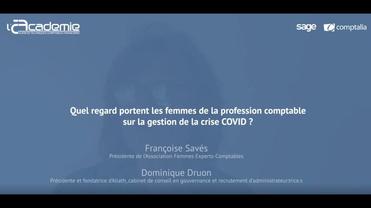 Les Entretiens de l'Académie : Françoise Savés et Dominique Druon