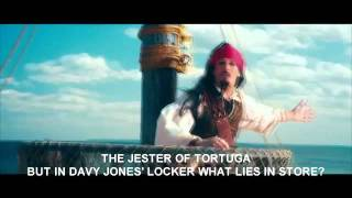 The Lonely Island Ft. Michael Bolton - Jack Sparrow LYRICS