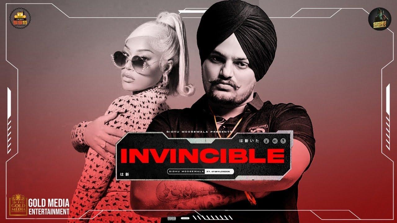 Invincible Lyrics Sidhu Moose Wala, Stefflon Don