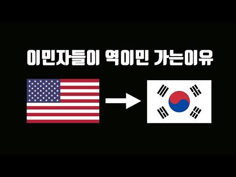 미국사회 한인들은 왜 한국으로 다시 가고싶어할까?