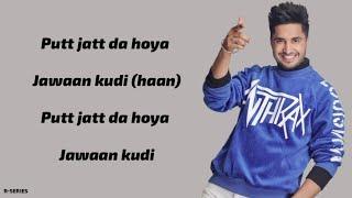 Surma Kaala (Lyrics) - Jassie Gill | Snappy | Jass Manak