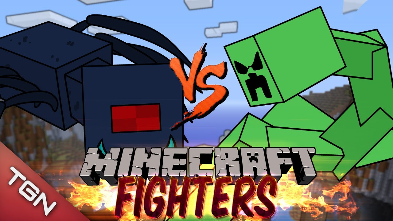 Spider queen vs mutant creeper minecraft fighters - Minecraft zombie vs creeper ...