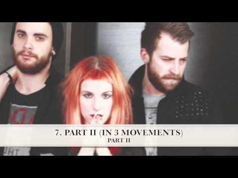 'Paramore' - (Self-Titled Piano Collections)