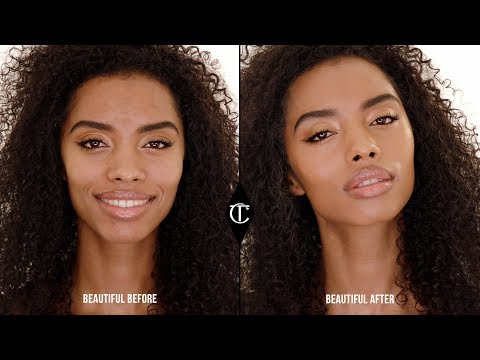 How to use Hollywood Flawless Filter to add a BLING of glow to your makeup look | Charlotte Tilbury