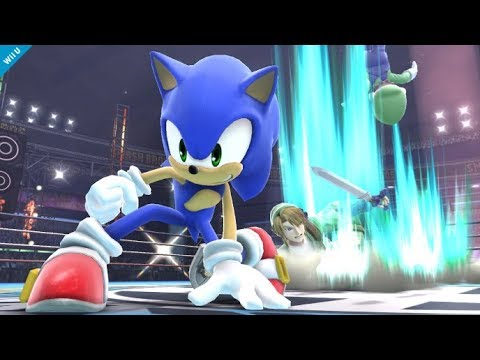 Top 10 Sonic Plays - Super Smash Bros for Wii U
