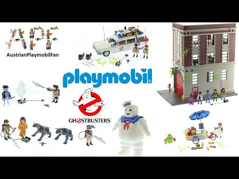 Alle Playmobil Ghostbusters Spielsets 2017 - Playmobil Build Review