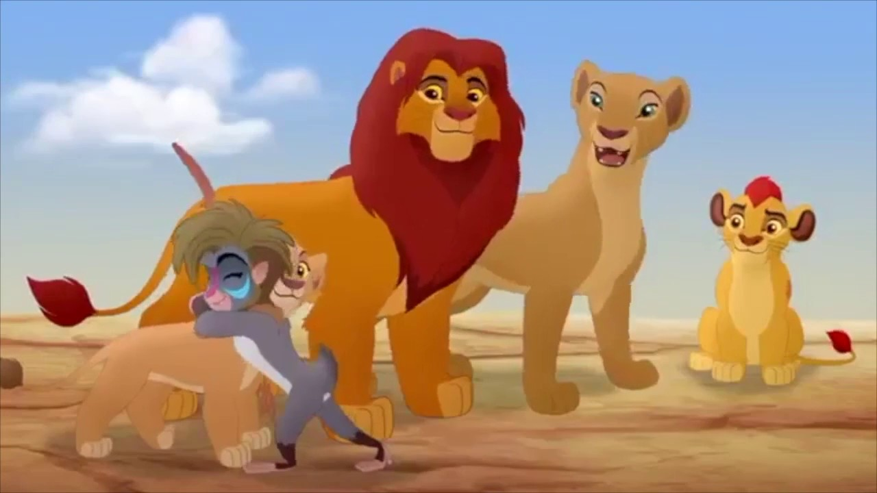 The Lion Guard The Rise Of Scar Makini Meets The Royal Family Scene Hd