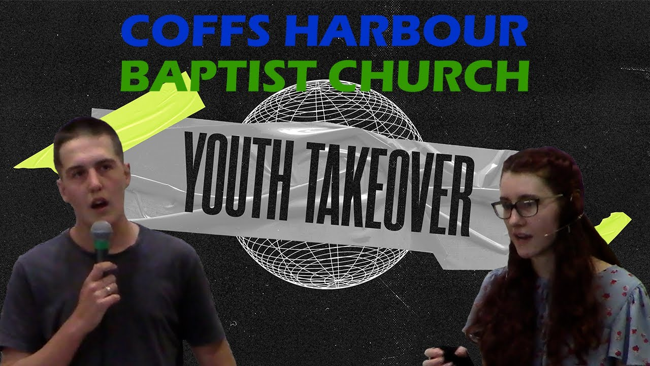 Live stream - Youth Take Over - Ben Broekman & Jess Payne