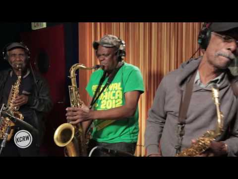 "Cymande performing ""Bra"" Live on KCRW"