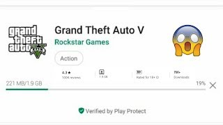 How to Download Gta 5 on Android Mobile | Install Gta V apk+Data 2020 | 100% Working 1.9Gb