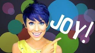 Joy! An Inside Out Makeup Transformation!