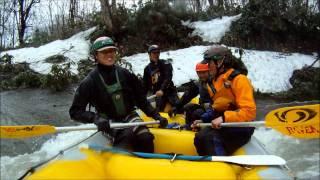 北海道ライオンアドベンチャー 2011 春の尻別川