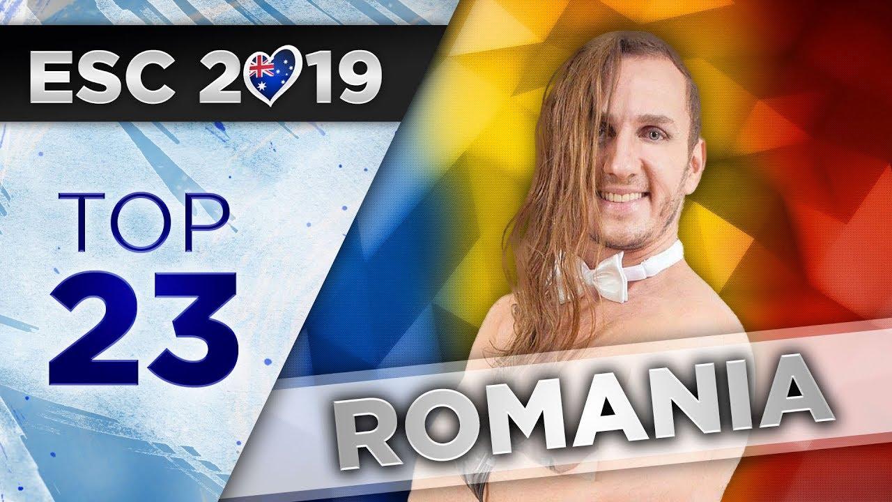 Top 23 - Romania Eurovision 2019 (Selecția Națională)