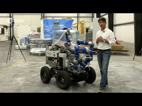 Earth-bound Robot to be Controlled From the Space Station | Video