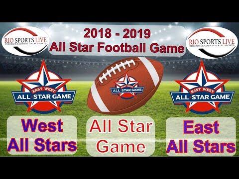 RGVCA All Star Football Game from Sams Stadium Brownsville 5 17 2019