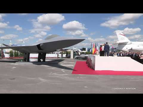 Inauguration par le Président de la République - Salon du Bourget 2019 - Dassault Aviation