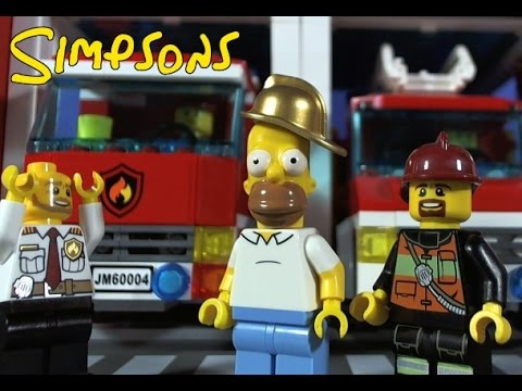 LEGO SIMPSON'S, HOMER'S DAY