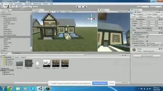 Como Hacer una Casa En Minecraft y Ponerla en Unity