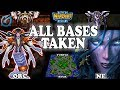 Grubby | Warcraft 3 TFT | 1.30 | ORC V NE On Turtle Rock - All Bases Taken!