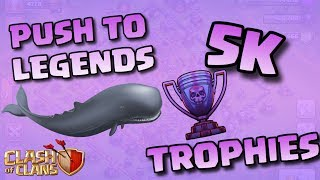 PUSH TO LEGENDS EP.6!! SO MANY WHALES!! |Clash of Clans
