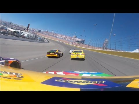 #18 - Kyle Busch - Onboard - Las Vegas - Round 27 - 2018 Monster Energy NASCAR Cup Series