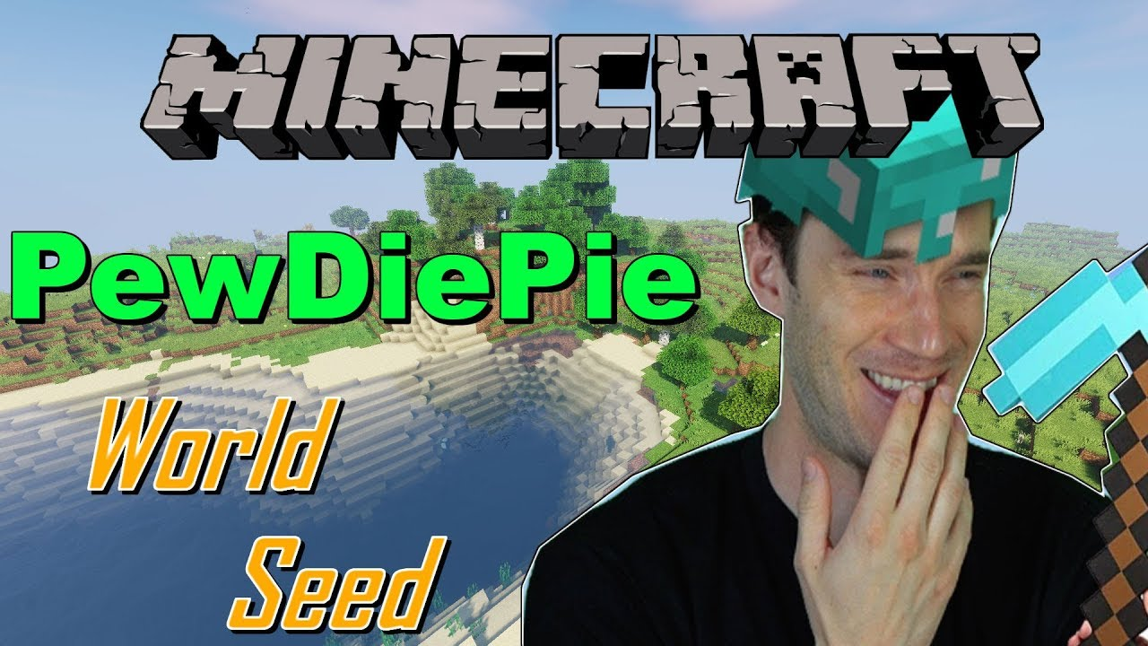 Playing On Pewdiepie S Minecraft World Seed Youtube