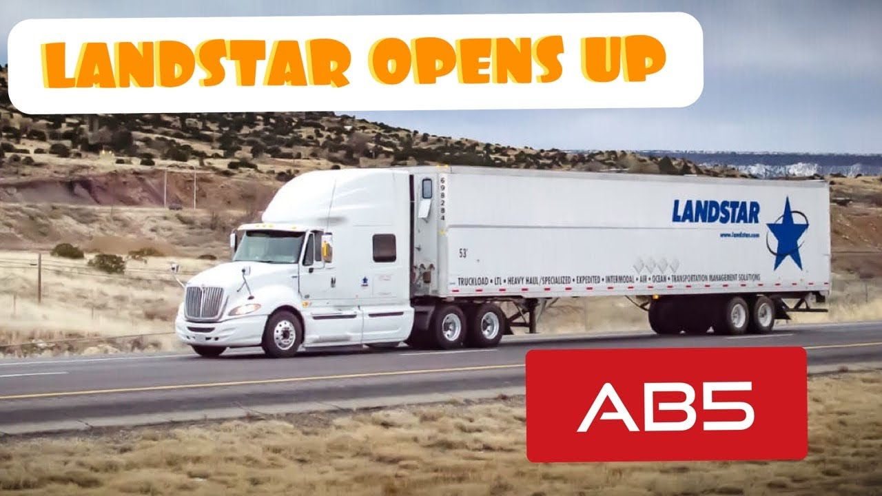 Download Landstar tells BCOS about AB5 and how they will do business going forward