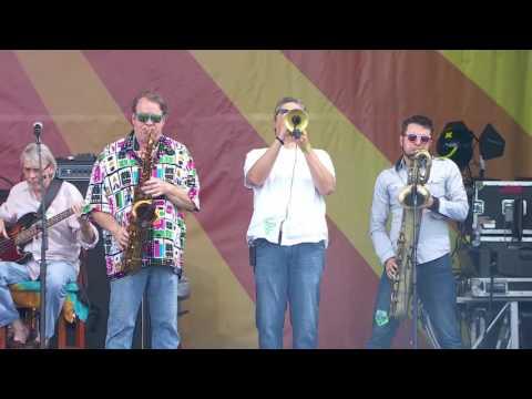 New Orleans Suspects at Jazz Fest 2016 with Big Chief Juan Pardo - Round Up dem Suspects
