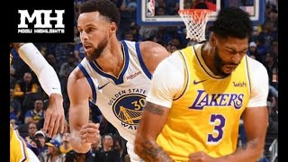 Golden State Warriors vs Los Angeles Lakers - Full Game Highlights October 5, 2019 NBA Preseason