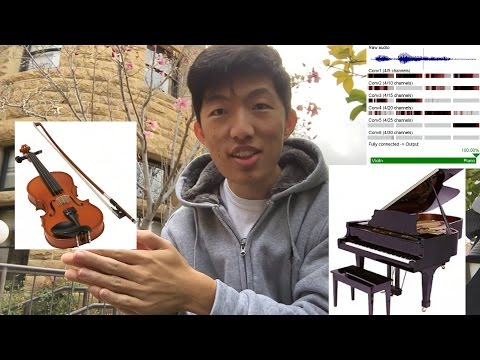 This AI can discern between piano and violin with 96% accuracy!