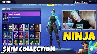 NINJA FORTNITE CASIER: It has all the rarest skins especially RECON EXPERT