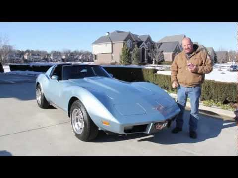 1977 Chevy Corvette T Tops Classic Muscle Car for Sale in MI Vanguard Motor Sales