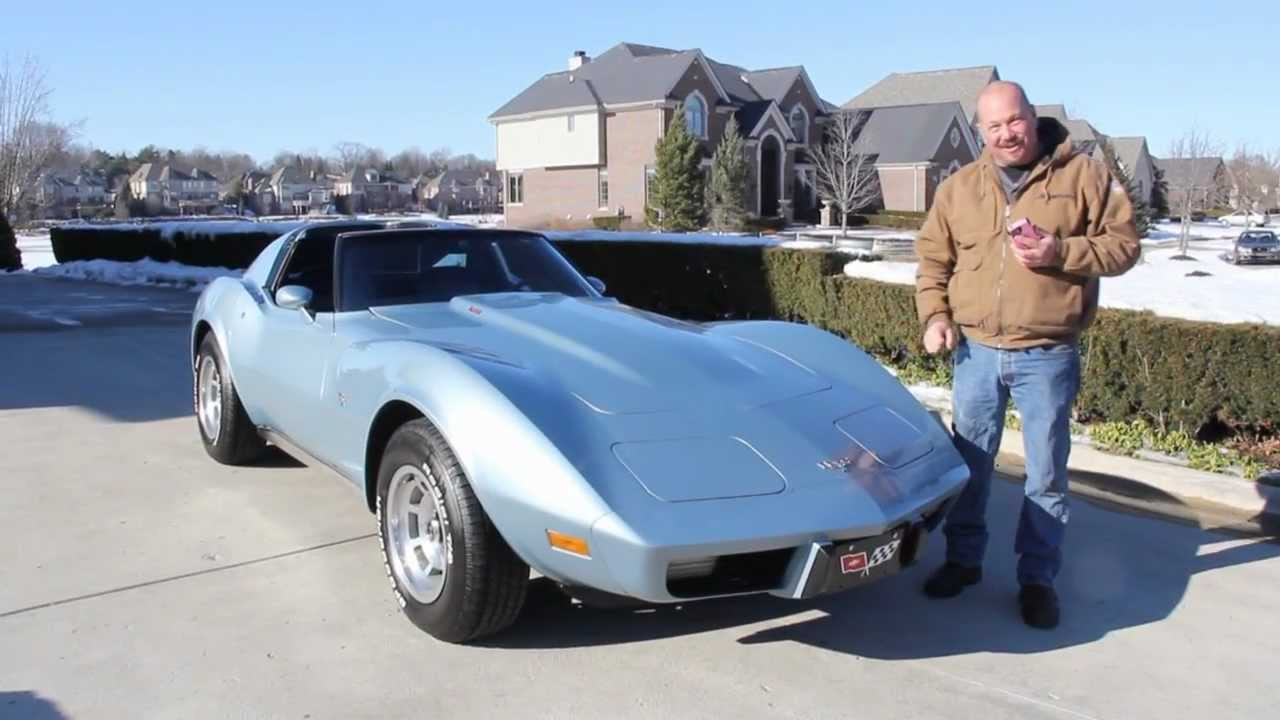1977 Chevy Corvette T Tops Clic Muscle Car For In Mi Vanguard Motor S You