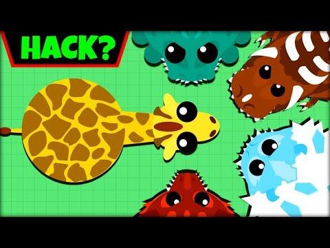 MOPE.IO GIRAFFE vs 1000 ANIMALS | KILLING DRAGONS & T-REX | RIP GIRAFFE (Mope.io Funny Moments)
