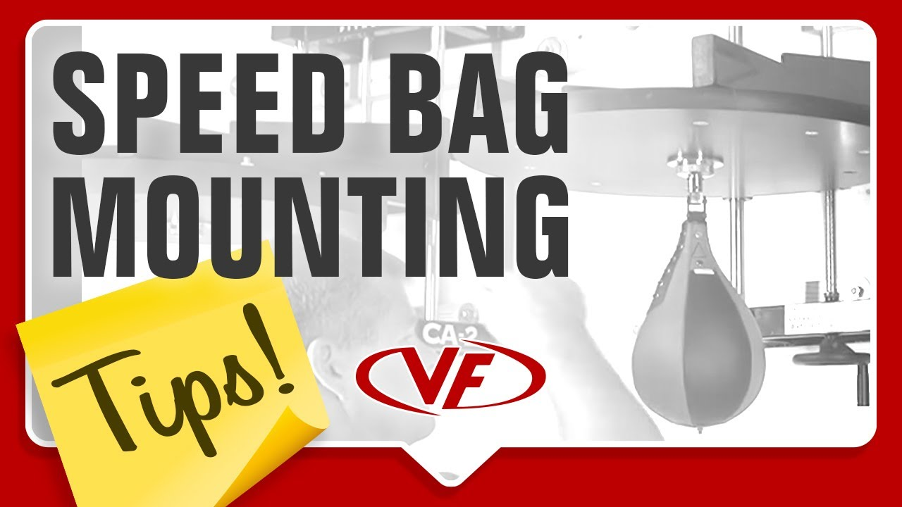 Valor Fitness Speed Bag Mounting Tips Youtube