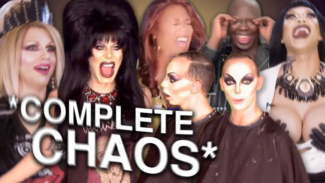 CHAOTIC drag queen clips that live in my head RENT FREE