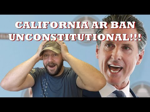 """California """"Assault Weapons Ban"""" overturned!!! This has MASSIVE implications!"""
