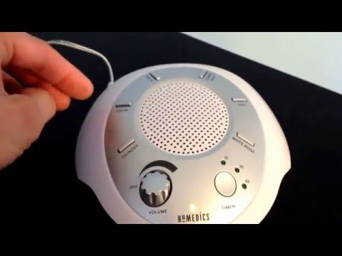 Homedics portable sound machine review CHEAP AND IT WORKS!