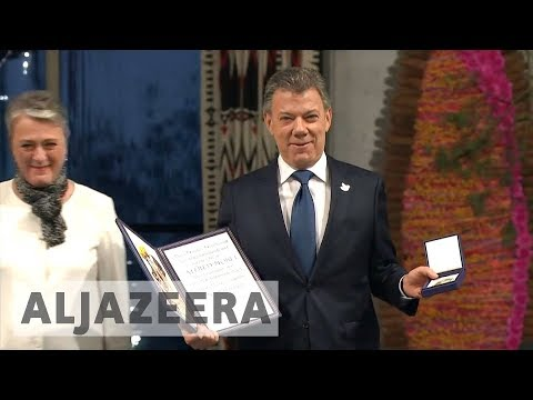 Colombia suffers divisions despite 2016 Nobel Peace Prize win