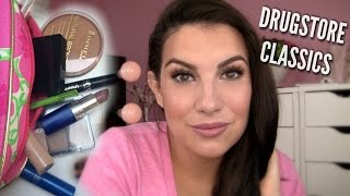 DRUGSTORE CLASSICS: My FIRST Makeup. Re-haul & Tutorial