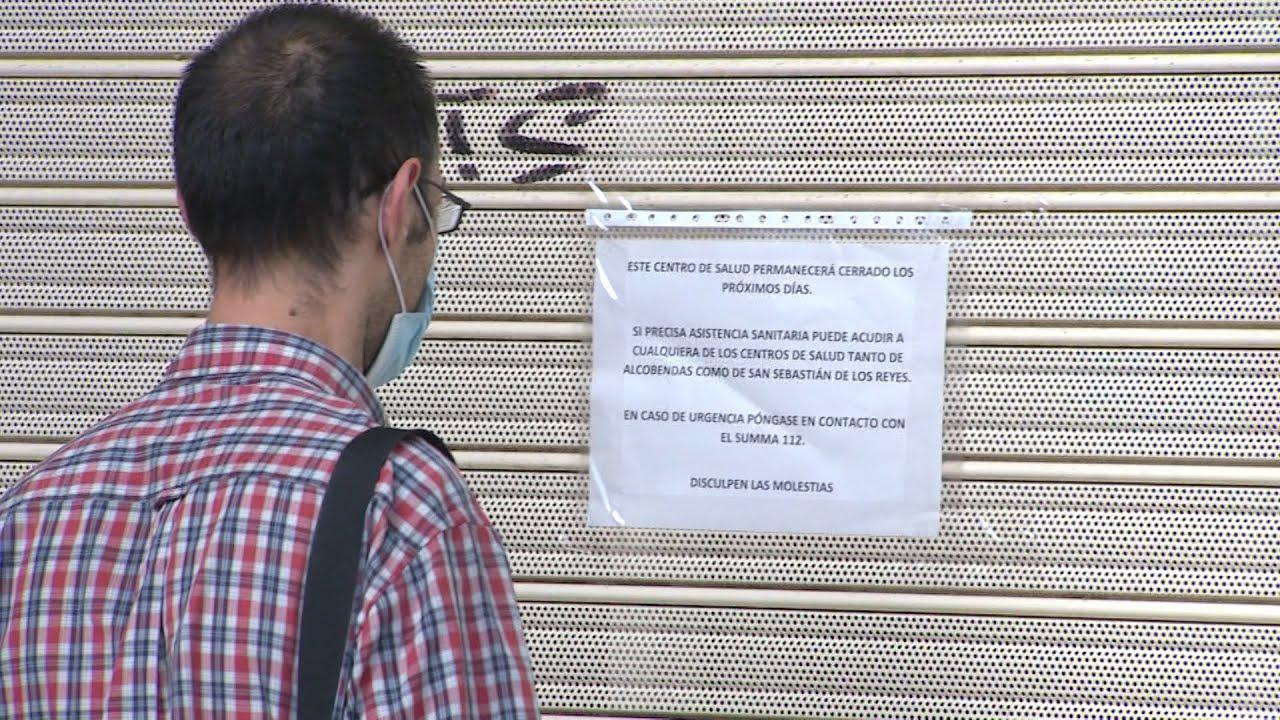 Cierra un centro de salud en San Sebastián de los Reyes por brote entre profesionales