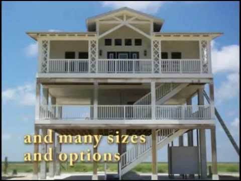 Hurricane resistant homes youtube for Cyclone proof home designs