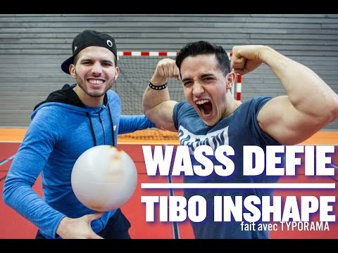 Wass défie TIBO INSHAPE au FREESTYLE FOOTBALL