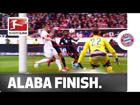 David Alaba's First Goal of the Season – Austrian Scores Against Stuttgart