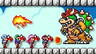 Super Mario Maker 2 - Online Versus Mode #4 (4 Player Matches)