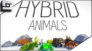 HYBRID ANIMALS GAME - TREX+SANTA=HILARIOUS | Funny Moments | Sl1pg8r