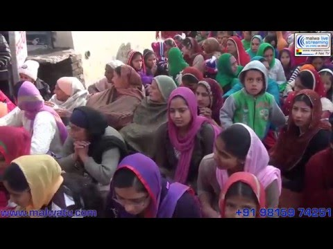 KOTHE PONA (Jagraon) Nagar Kirtan - 2014 Part 1st.