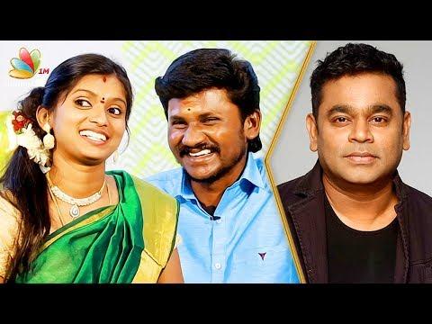 AR Rahman Suprised Us in Supersinger   Senthil Ganesh, Rajalakshmi and Jayanti Interview