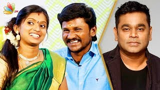 AR Rahman Suprised Us in Supersinger | Senthil Ganesh, Rajalakshmi and Jayanti Interview